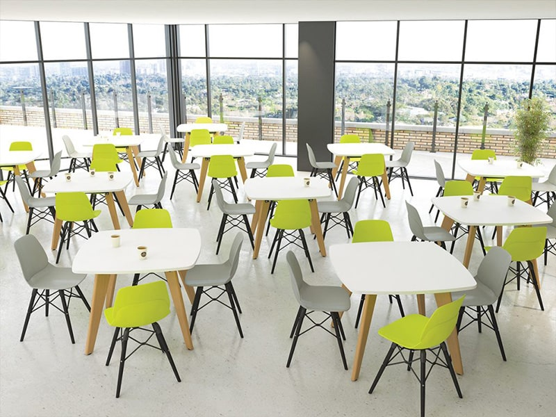Canteen office furniture from Sheffield office furniture