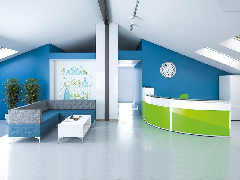 reception office furniture and waiting room furniture