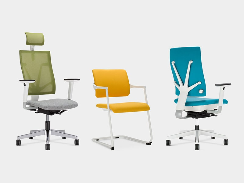 Office furniture seating, office chairs and desk chairs
