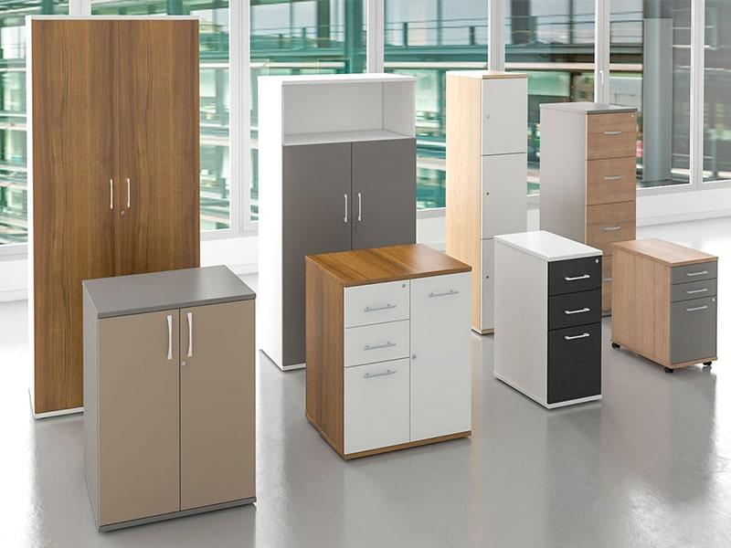 Sheffield office furniture storage, cupboards, pedestals